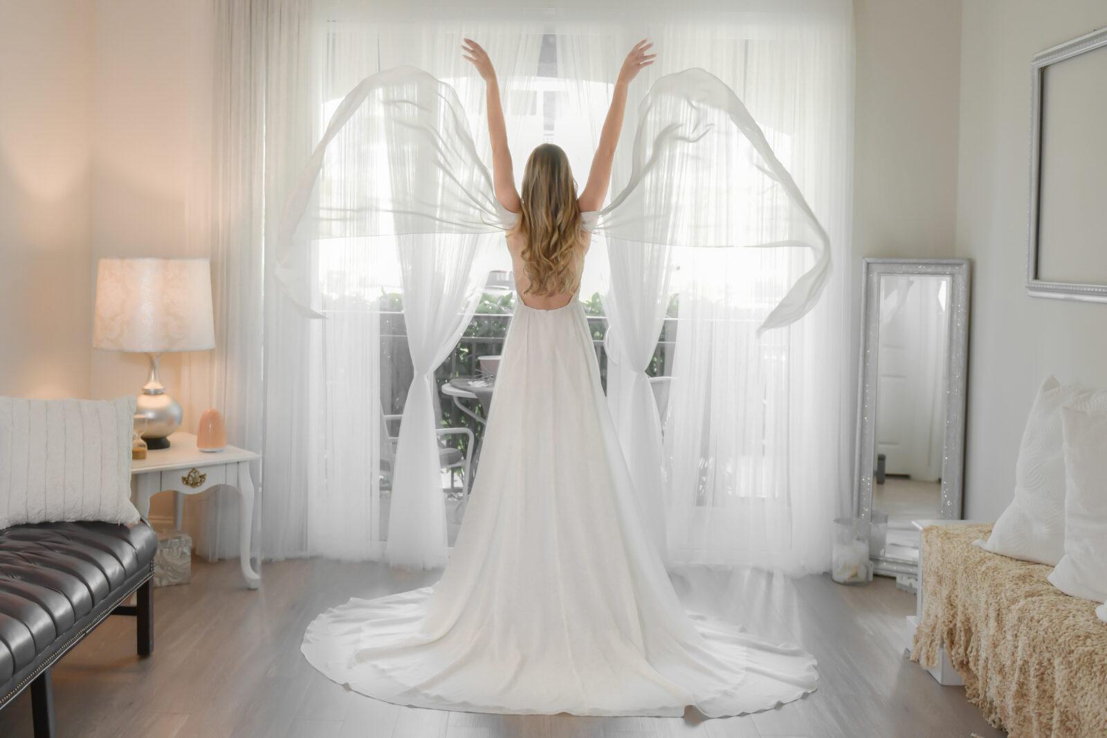 Orlando Custom Design Wedding Dress Sira D Pion,Average Cost Of Wedding Dress Canada